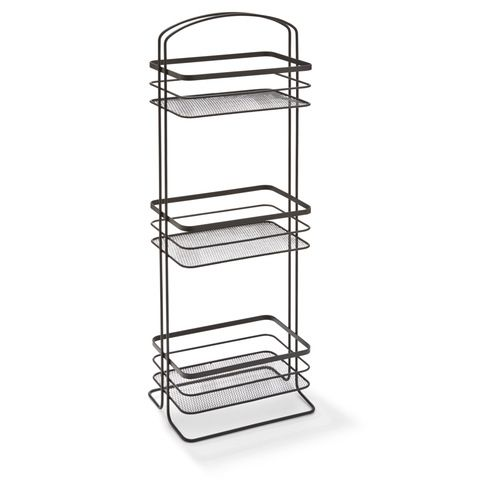 Genial KMART 3 Tier Floor Caddy   Black $15 For Bathroom