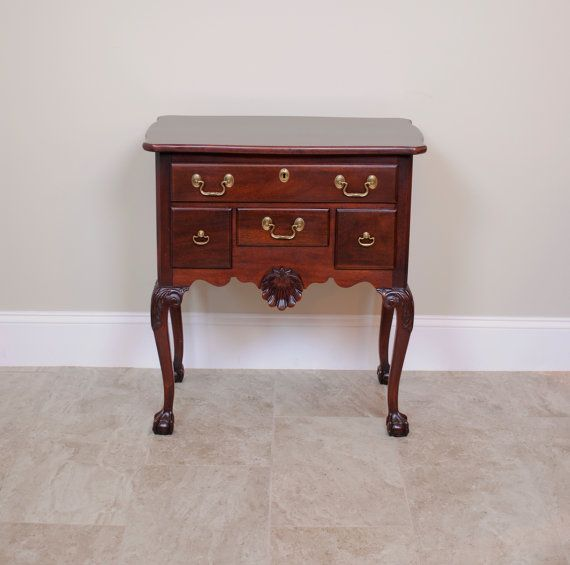 Link Taylor Mahogany Low Boy Night Stand Side Table Side