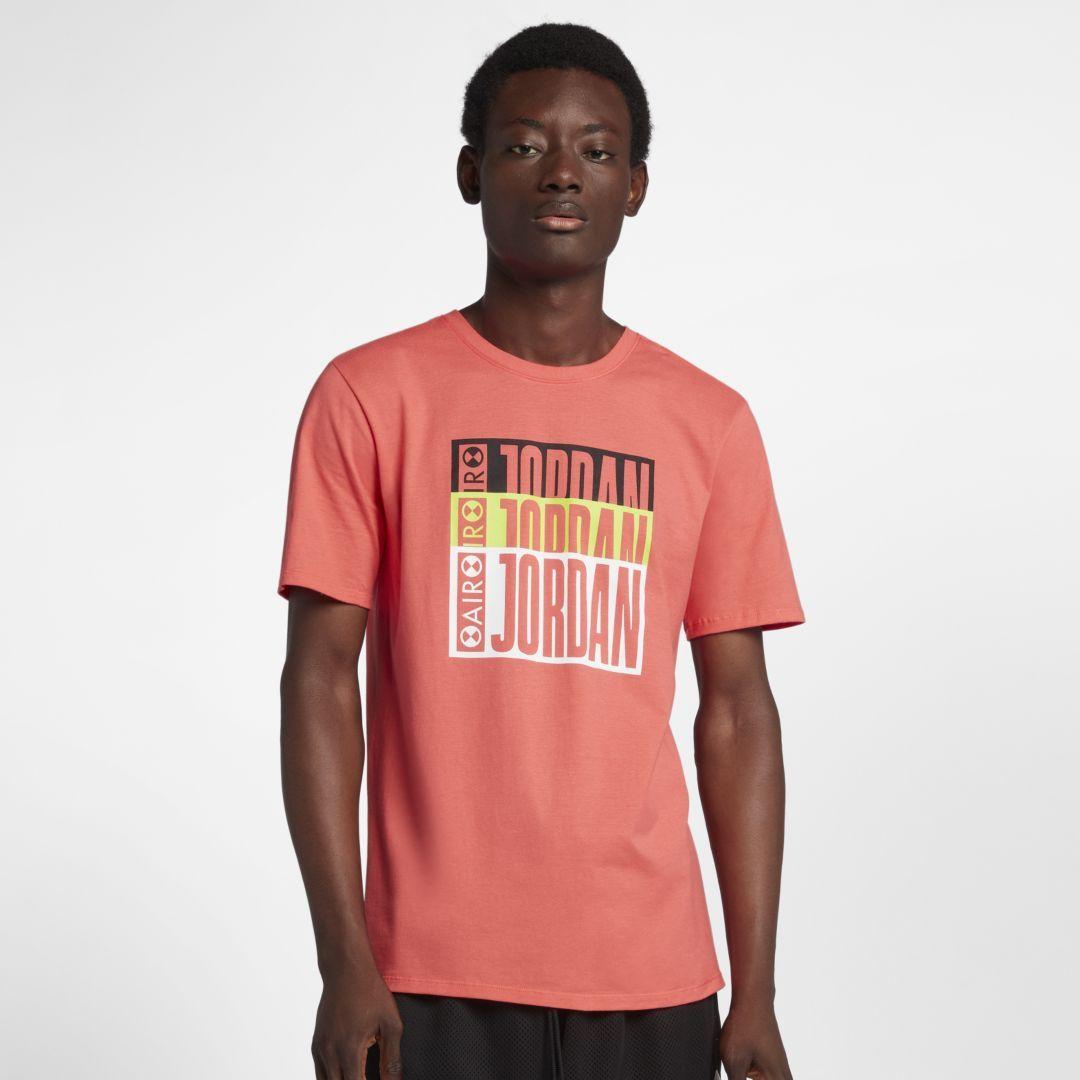 742dc81c3fda Jordan Legacy AJ 3 Tinker Men s T-Shirt Size 4XL (Ember Glow)