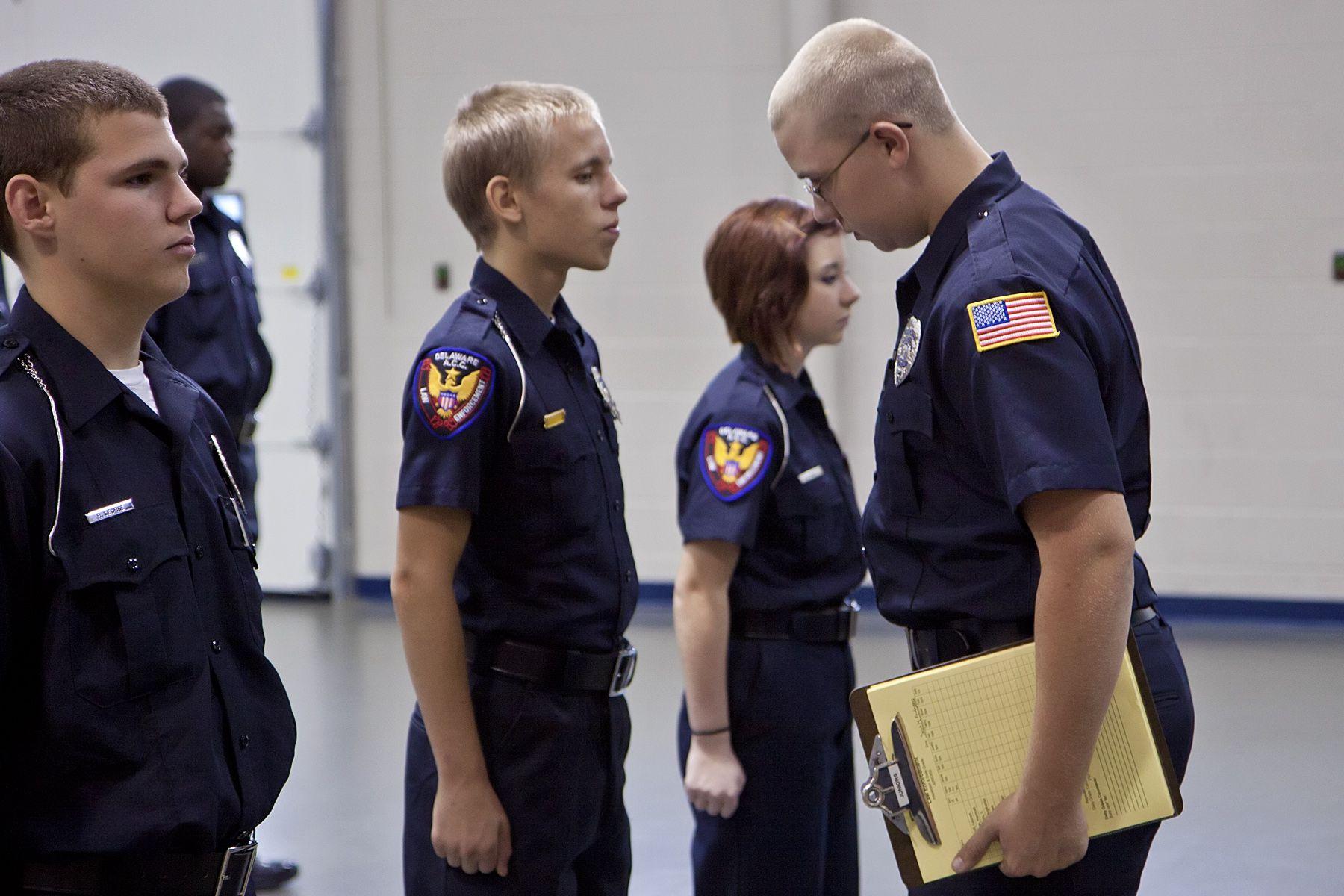 Law Enforcement at DACC Law enforcement, Winter jackets