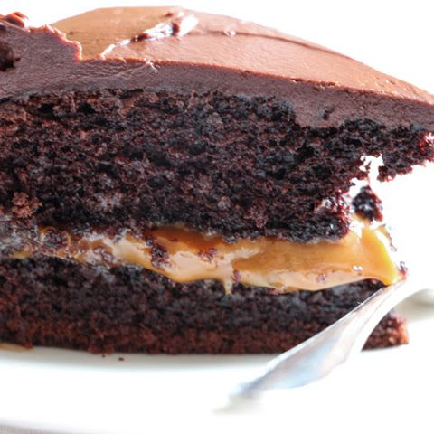 Chocolate & Dulce De Leche Cake
