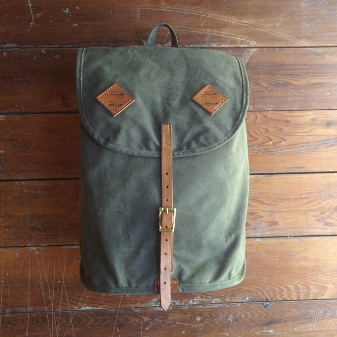 Waxed Canvas Daytripper Backpack