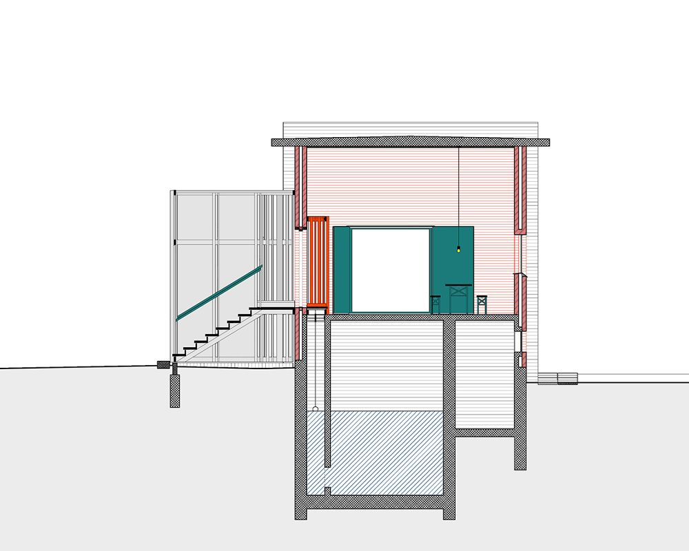 SKJERN RIVERTransformation of three pump stationsLocation: Skjern River, Ringkøbing-Skjern KommuneYear of construction: 2015Client: Ringkøbing-Skjern Kommune - Johansen Skovsted Arkitekter