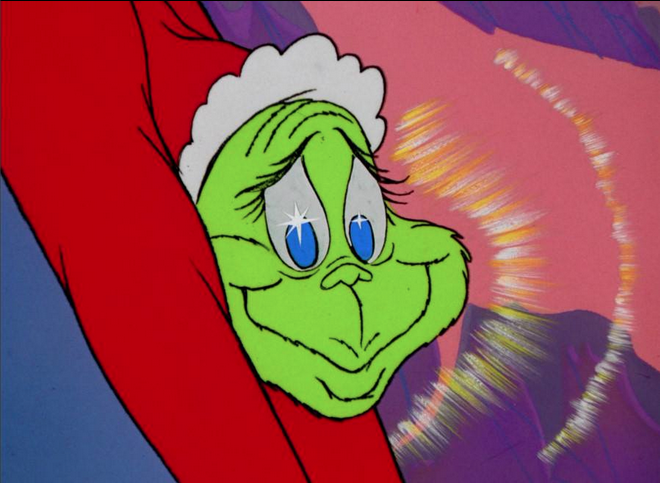 Love me? Grinch stole christmas, Grinch heart, Grinch