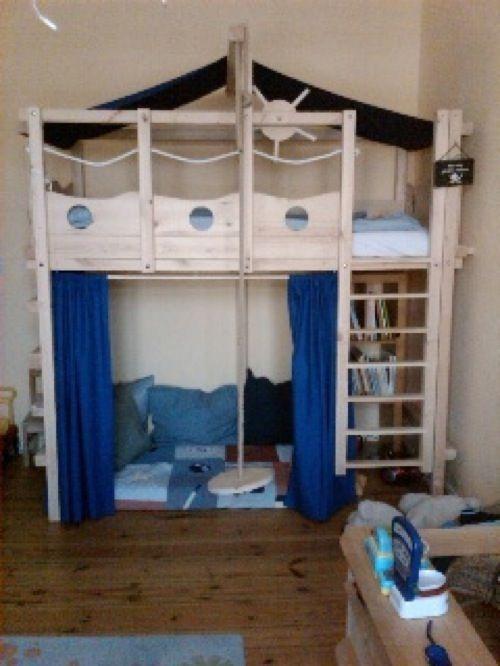 Perfect Hochbett Kinderbett Etagenbett Babybett Abenteuerbett Hochbetten Spielbett Piratenbett Umbaubett Kinderzimmer Kinderm bel
