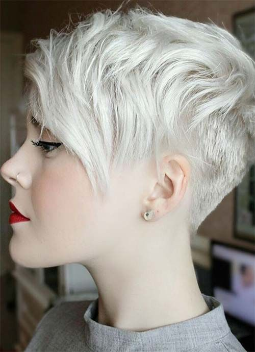 Short Hairstyles for Women Granny Pixie
