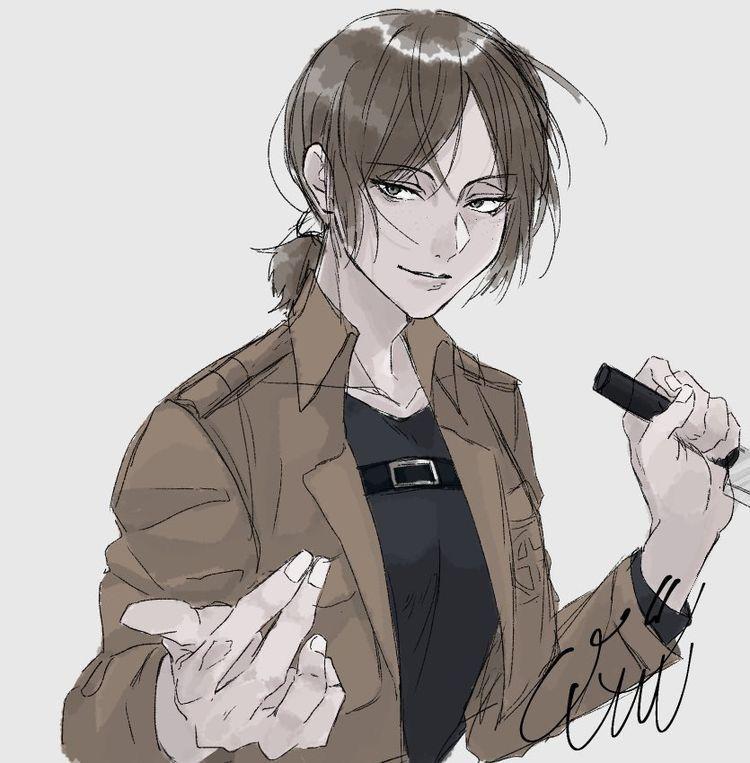 𝐁𝐄𝐇𝐈𝐍𝐃 𝐁𝐀𝐑𝐒   Mikasa x fem reader