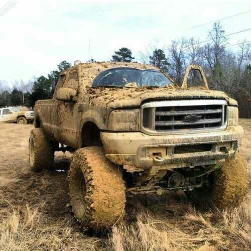 Bad ass mud trucks