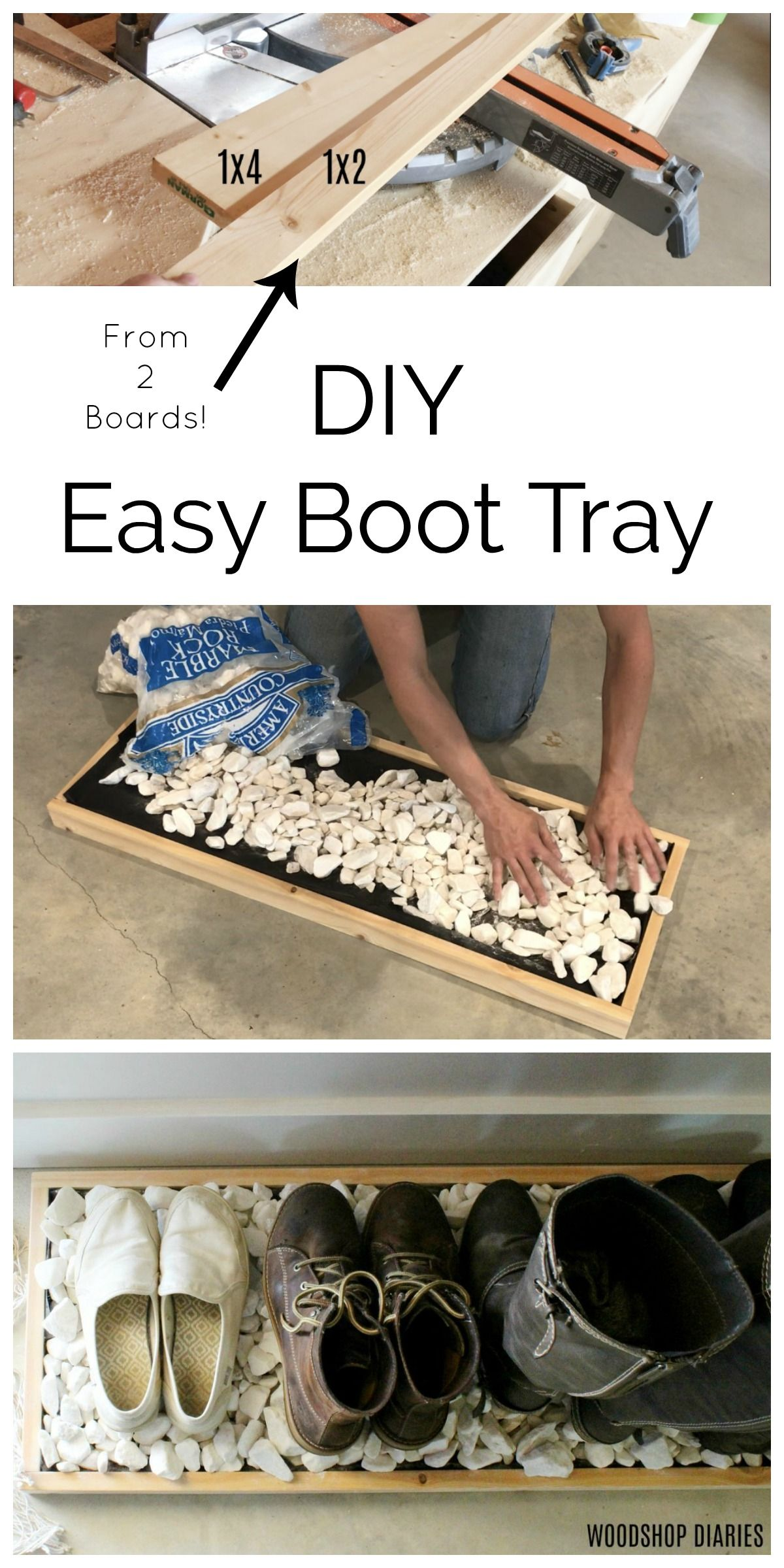 Photo of DIY EASY Boot Tray