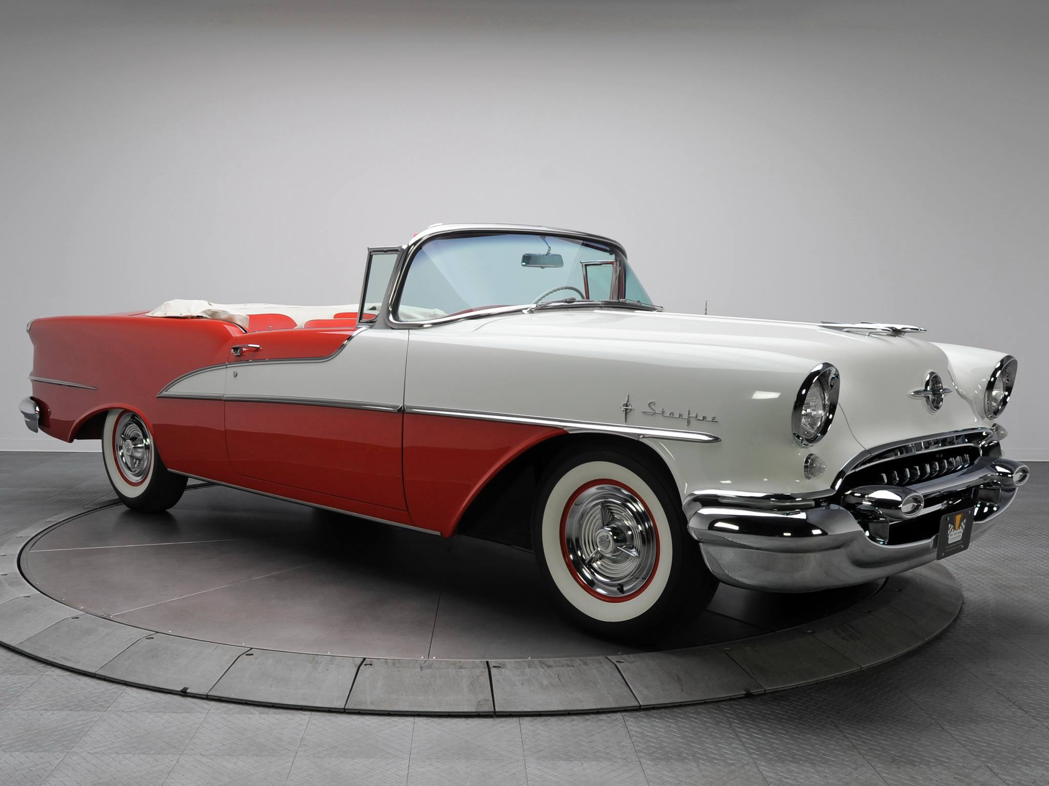 1955 Oldsmobile 98 Starfire convertible | Classic Autos | Pinterest ...