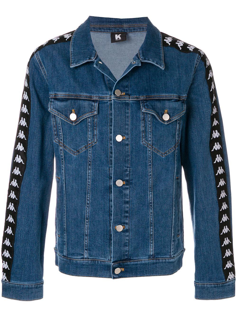 Kappa Kontroll Kontroll Denim Jacket Farfetch [ 1334 x 1000 Pixel ]