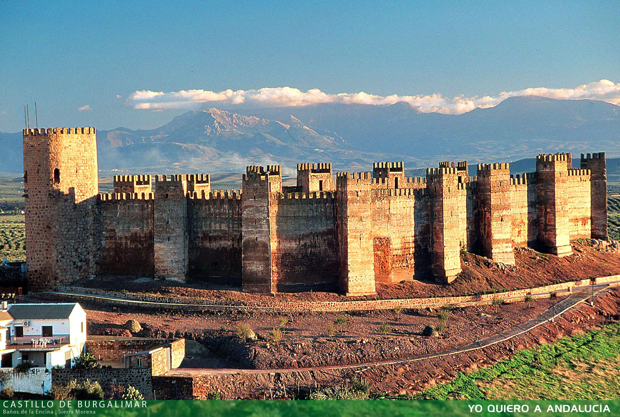 Castillo De Burgalimar Del Arabe Bury Al Hamma Castillo De Los