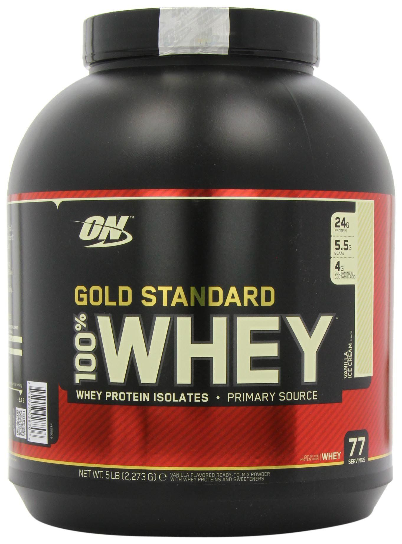 Amazon Com Optimum Nutrition 100 Whey Gold Standard Vanila 5 Pound Health Personal Optimum Nutrition Gold Standard Optimum Nutrition Gold Standard Whey
