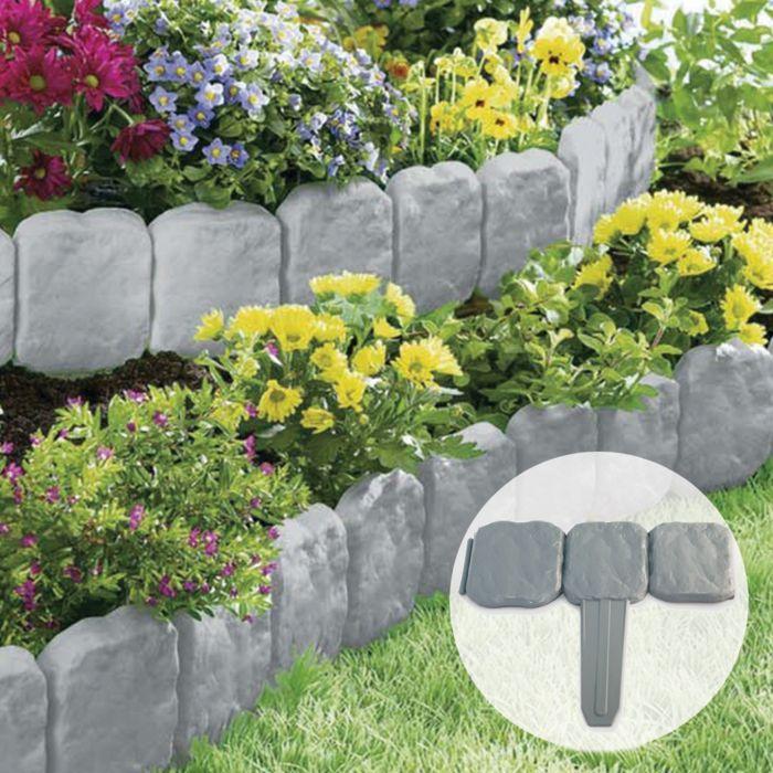 Rasenkante Und Beeteinfassung Zahlreiche Ideen Und Praktische Tipps Beeteinfassung Cemen Garden Edging Garden Flower Beds Garden Borders