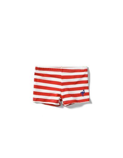 8840003f striped swimming shorts -Kids - ZARA United States have size 3   D ...