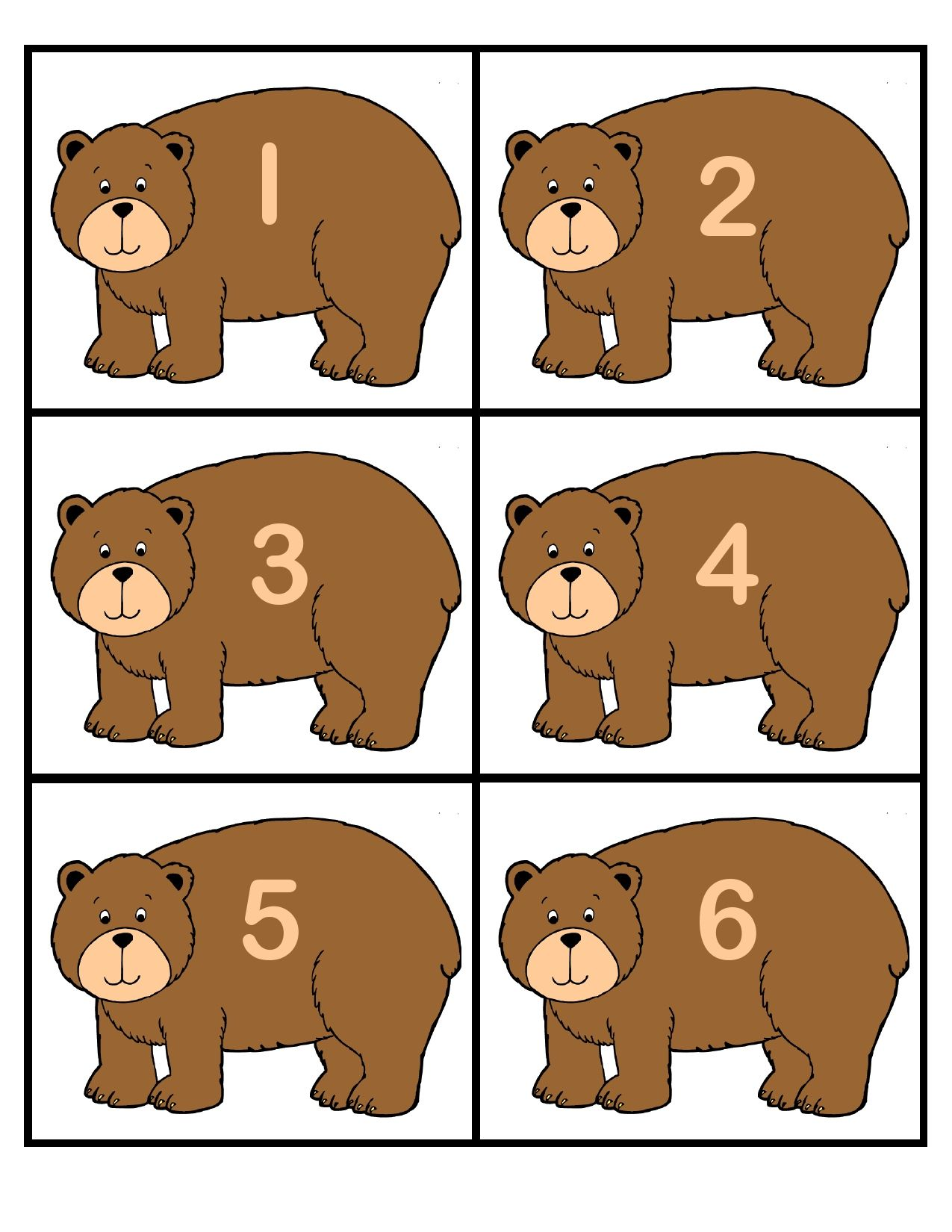 Bear Counting Game Helps Preschoolers With Number