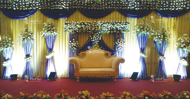 wedding stage decoration | Wedding stage decorations ...