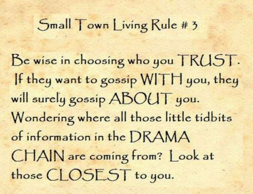 10 Life In A Small Town Quotes Life Quote Quoteslife99 Com Small Town Quotes Small Minds Quotes Small Town Living