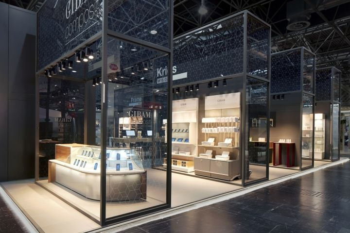 Exhibition Stand Design Trends 2017 : Gibam composit stand by anidridedesign at euroshop