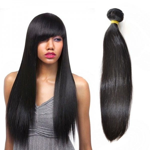 Mink Mongolian Human Virgin Straight Hair Weave 1 Bundle Wdsd003