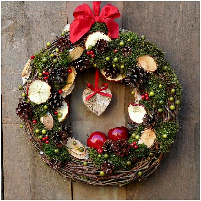 Zastygła Natura Boże Narodzenie vánoce Pinterest Wreaths - christmas wreath decorations