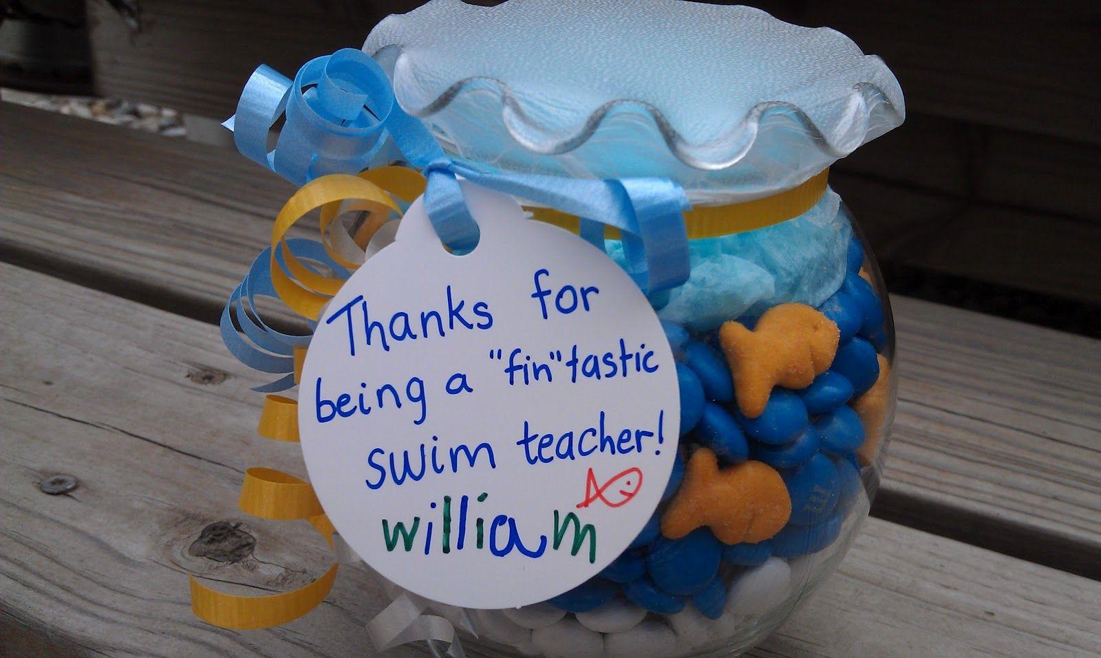 Thanks For Being A FINtastic Swim Coach/teacher... Always
