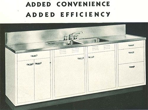 Whitehead steel kitchen cabinets - 20-page catalog from 1937 | Steel ...