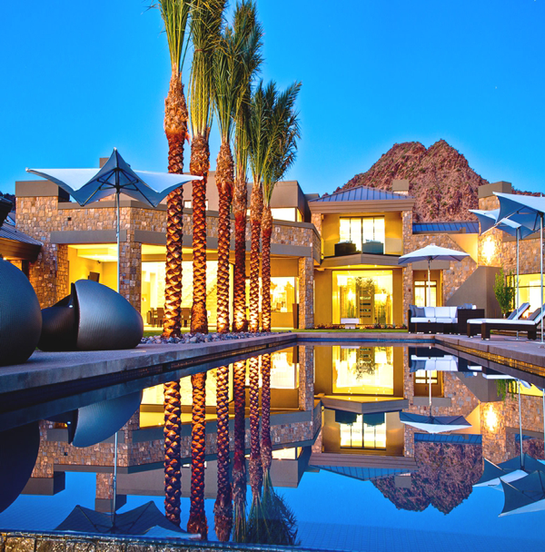 Contemporary Mediterranean House A Private Paradise: Scottsdale Luxuxy Houses - Google Search