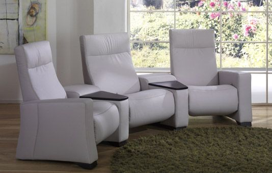 Himolla s home cinema sofas finished in high quality leather Introducing the Cumuly series