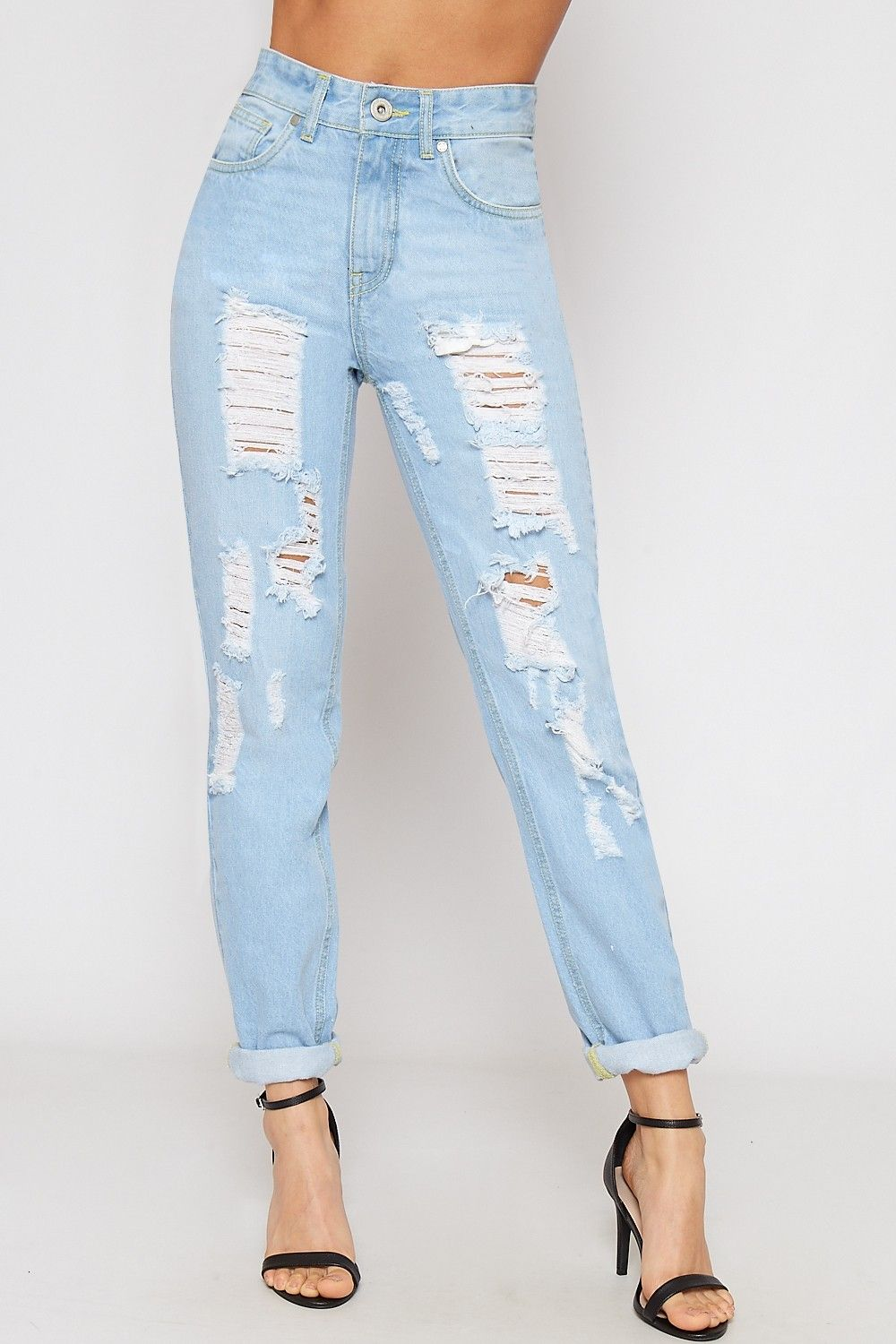 4db54d4c1c7db7 Shop for Women's Jeans and denim at WearAll. Choose from a huge range of  styles, including skinny jeans, boyfriend jeans, bootcut, straight leg and  hipster.