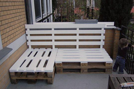 INSPIRATION 100% RECUP : Des meubles tendance en palettes de bois ...