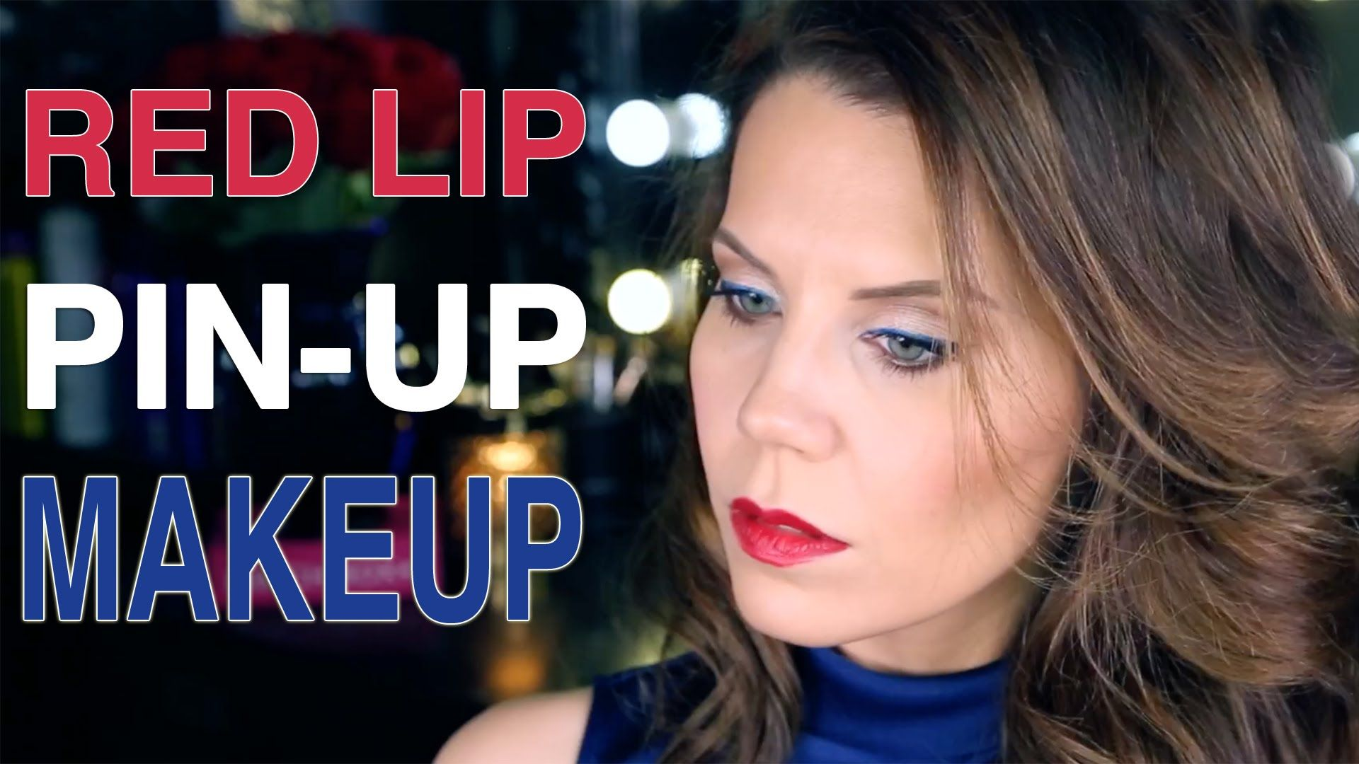 4th of july red lip makeup tutorial beauty makeup 4th of july red lip makeup tutorial baditri Image collections