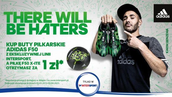 Promocja Adidas F50 W Intersport Adidas