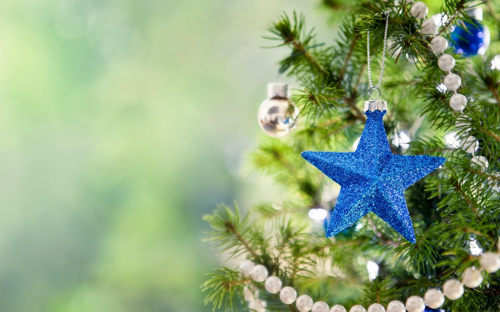 blue star christmas tree wallpaper| merry christmas 2014 | christmas