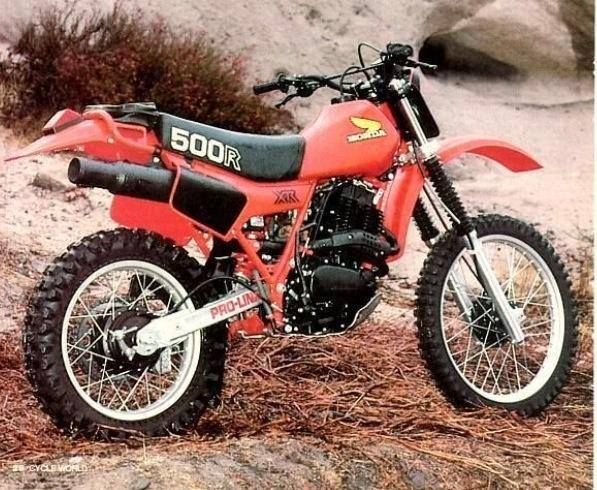 1983- Honda XR500 Got one of these in my out building.