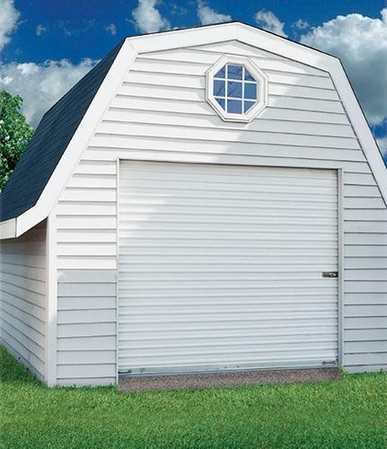 Ideal Door 174 4 Ft X 6 Ft Ribbed Model 200m Roll Up Door