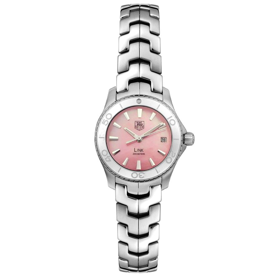 Price:$1546.39 #watches Tag Heuer WJ1315.BA0573, A modern design and a classy style fuse into one to form the Tag Heuer. This timepiece will accentuate your style and add distinction to your wardrobe.