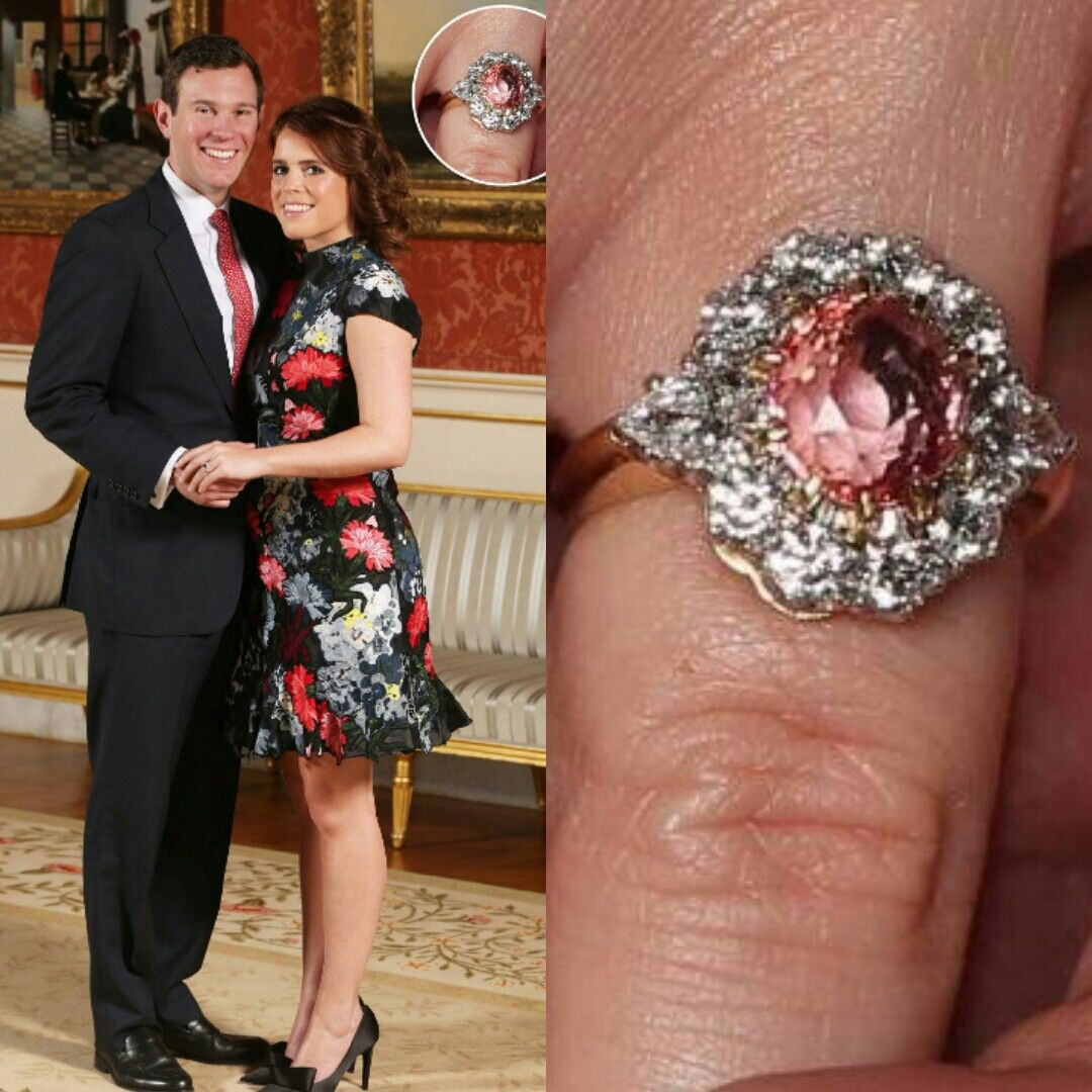 I Absolutely Adore The Rare Pink Sapphire Engagement Ring Recently
