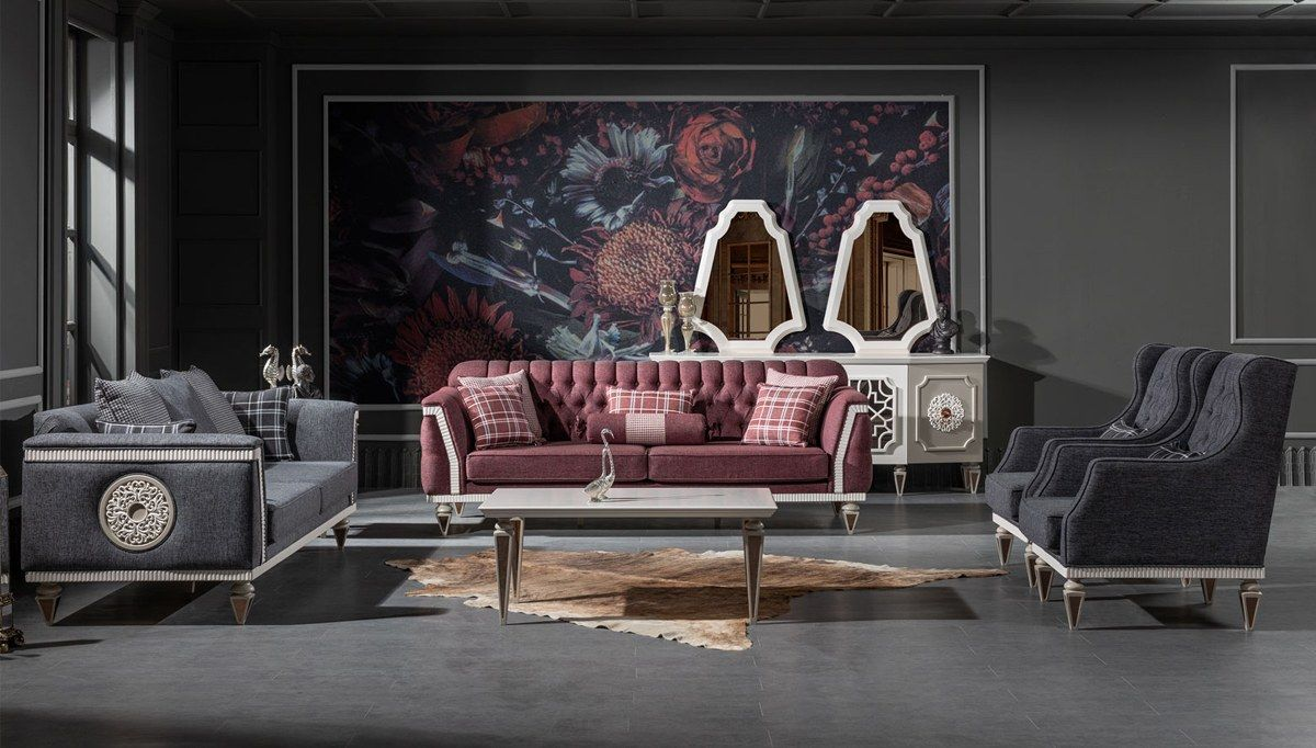 Dablin Art Deco Koltuk Takimi Diy Sofa Bed Design Design