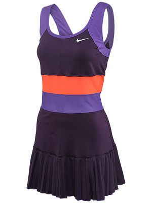 Play tennis · Nike Women's Grand Pleated Knit Dress