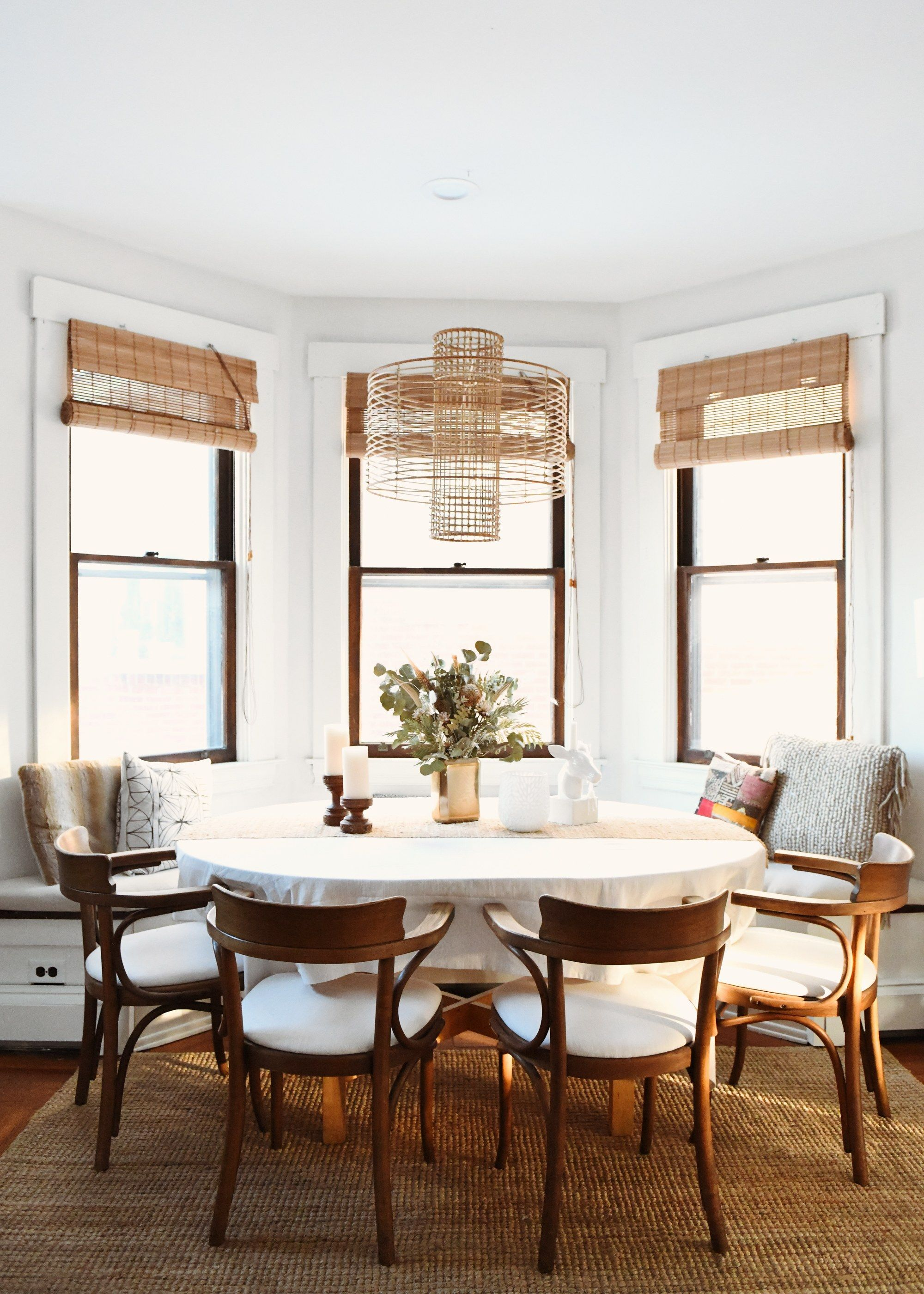 Erin Kelly Pittsburgh Craftsman Home Tour Modern Farmhouse Dining Craftsman Dining Room Dining Nook