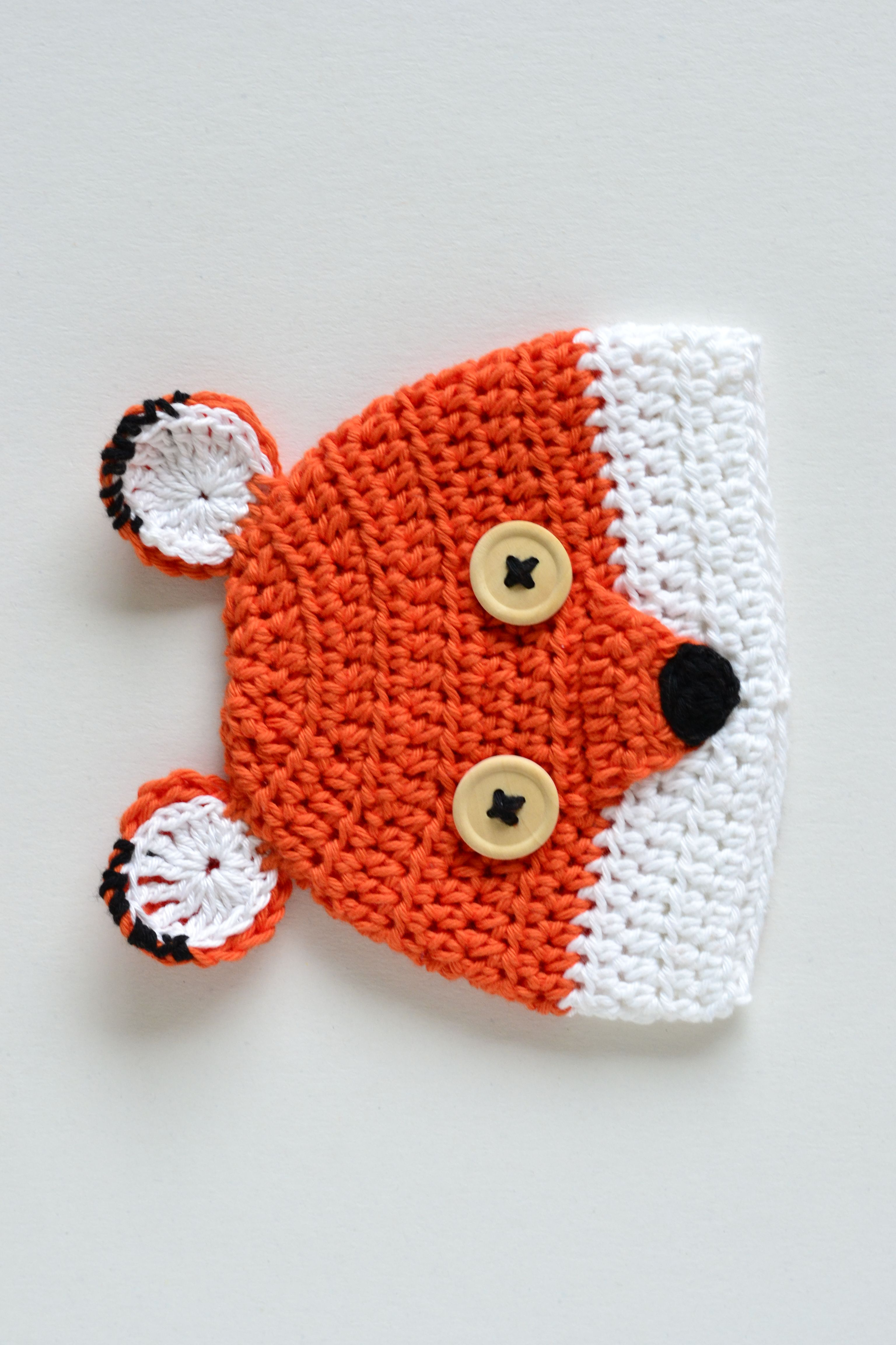 Croby Patterns - FREE Crochet Pattern - Cute Fox | baby clothes ...