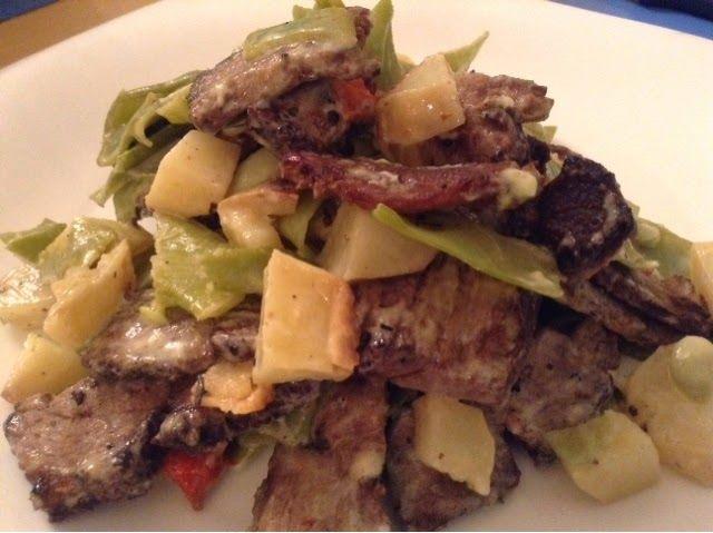 Recetas de Gourmet: Ensalada de Sobras de Tapa de Asado Ahumada y Chau...