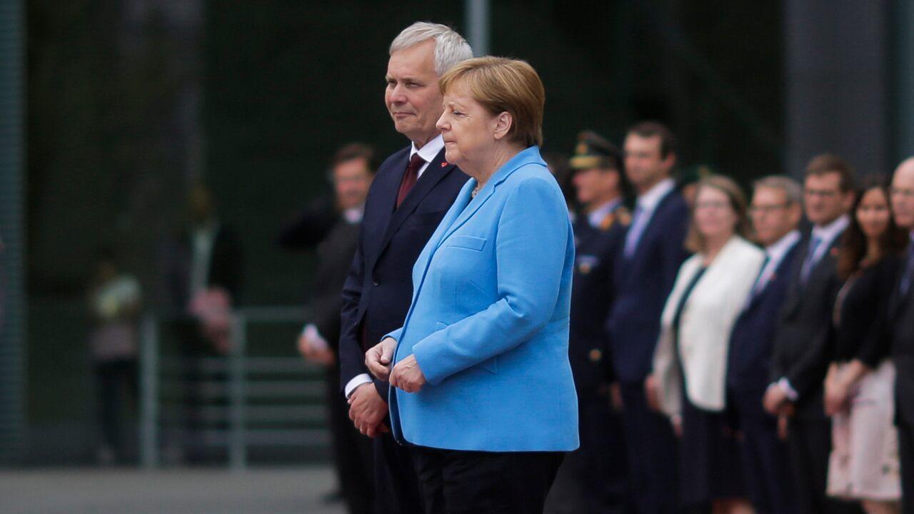 Angela Merkel Nude angela merkel denies rumors of declining health after third