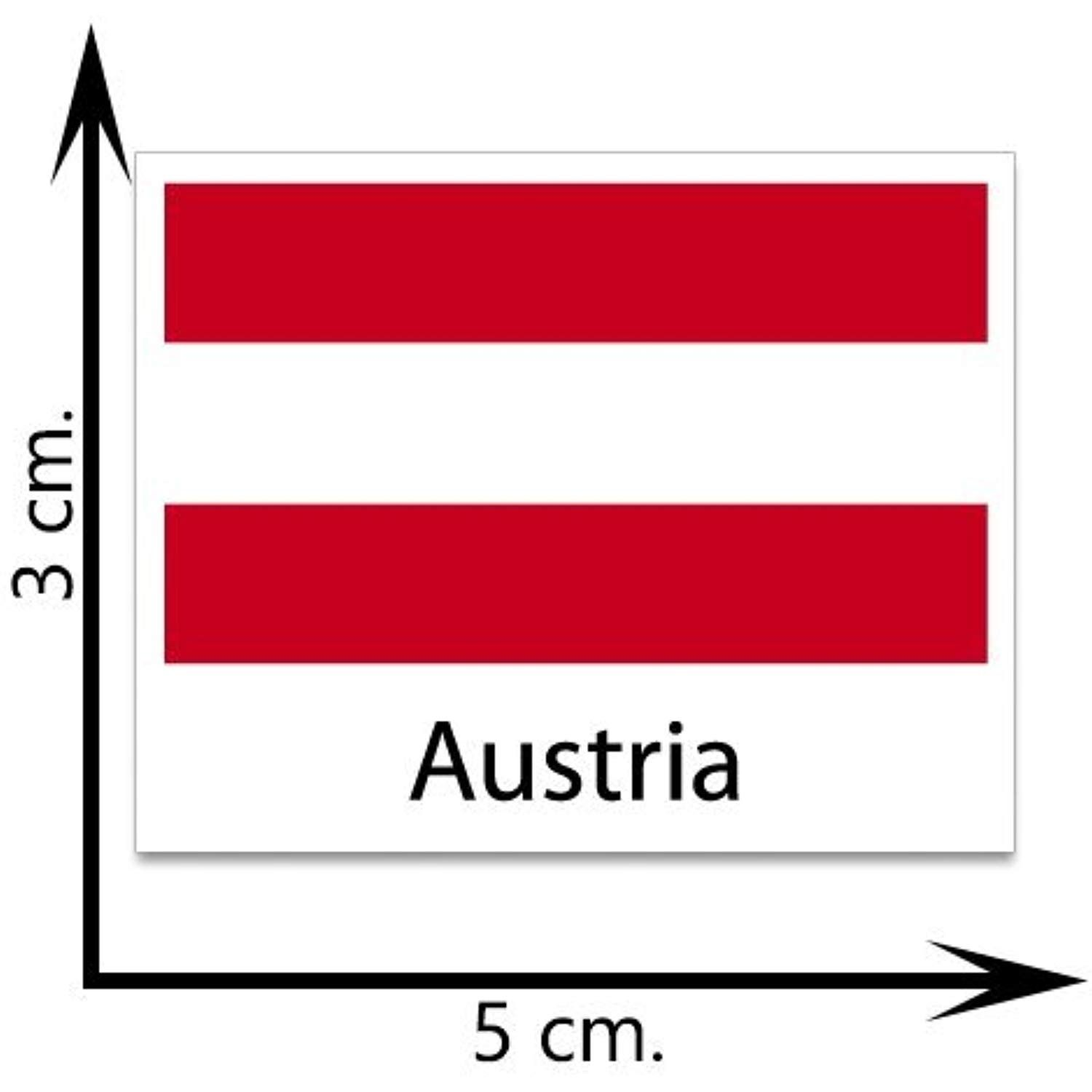 Austria Flag Temporary Tattoos Sticker Body Tattoo You Can Get