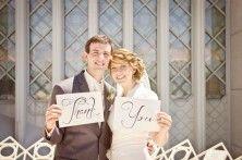 Wedding Thank You Photos