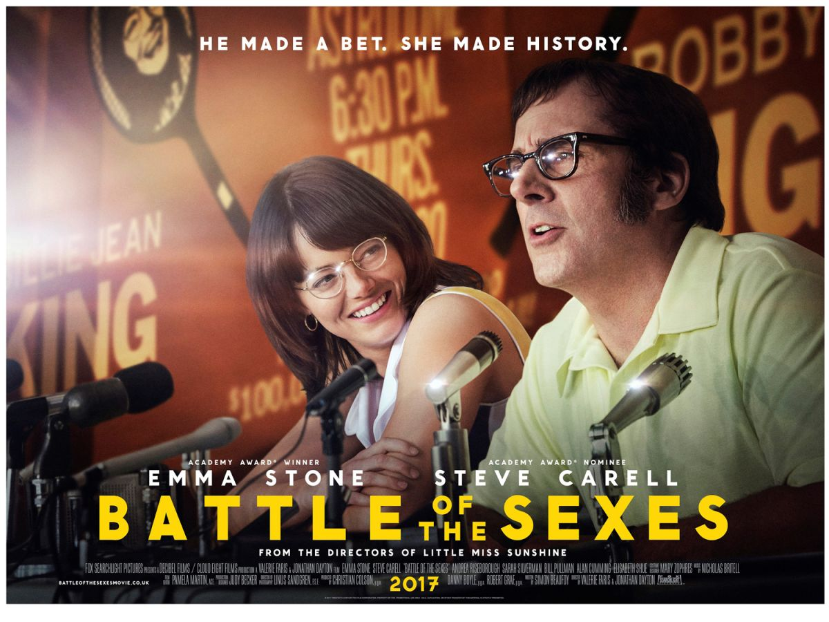 Battle Of The Sexes Steve Carell Battle Sparks Movies