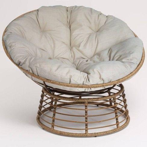 Wicker Papasan Chair Brown Opalhouse Target Papasan Chair Round Wicker Chair Small Chair For Bedroom