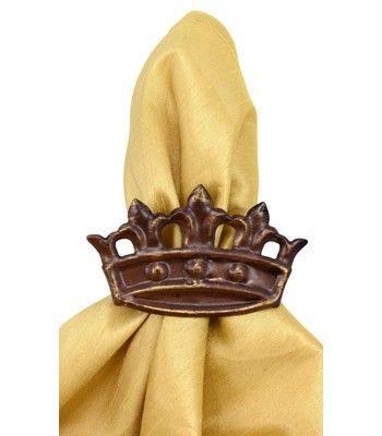 Crown napkin ring
