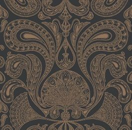 Malabar Walnut Cole And Son Wallpaper Cole And Son Paisley Wallpaper